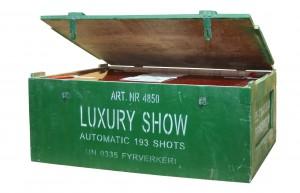 Linders fyrverkerier trälåda LuxuryShow